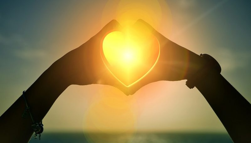 heart in sun, marriage